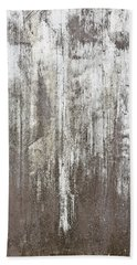 Weathered Metal Bath Towel