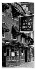 Ye Olde Union Oyster House Bath Towel by L O C