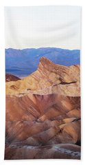 Hand Towel featuring the photograph Zabriskie Point by Catherine Lau