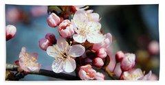 Tree Blossoms Bath Towel