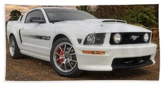2008 Mustang Gt/cs - California Special - Sunset Bath Towel