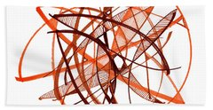 2010 Abstract Drawing Twenty Hand Towel by Lynne Taetzsch