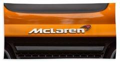 2012 Mc Laren Name Plate And Badge Hand Towel