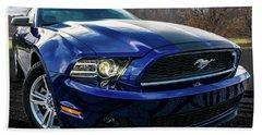 2014 Ford Mustang Hand Towel by Randy Scherkenbach