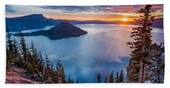 2015 Spring Sunrise From Discovery Point Hand Towel