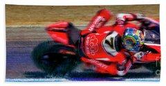 2016 Fim Superbike Chaz Davies Bath Towel