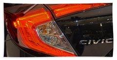 2016 Honda Civic Tail Light Bath Towel