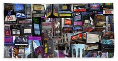 2017 Broadway Spring Collage Hand Towel