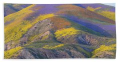 2017 Carrizo Plain Super Bloom Bath Towel
