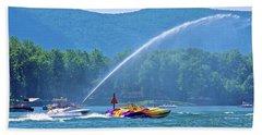2017 Poker Run, Smith Mountain Lake, Virginia Bath Towel
