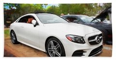2018 E 400 Mercedes-benz Coupe Bath Towel
