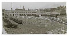 207th Street Railyards Hand Towel