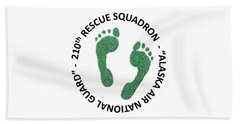 210th Rescue Squdron Bath Towel