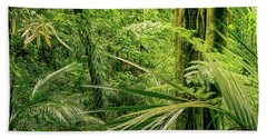 Bath Towel featuring the photograph Jungle by Les Cunliffe