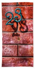 Bath Towel featuring the photograph 23 by Paul Wear