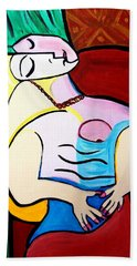 Picasso By Nora Hand Towel