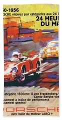 24 Hours Of Le Mans Hand Towel