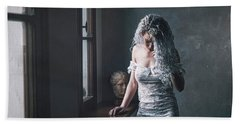 Bath Towel featuring the photograph Tu M'as Promis by Traven Milovich