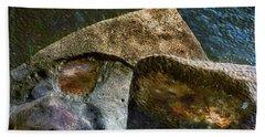 Stone Sharkhead Hand Towel