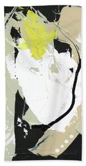 Hand Towel featuring the painting Three Color Palette by Michal Mitak Mahgerefteh