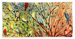 27 Birds Hand Towel
