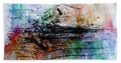 Hand Towel featuring the painting 2h Abstract Expressionism Digital Painting by Ricardos Creations