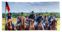 2nd Us Cavalry  Hand Towel