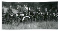 1941 Motorcycle Vintage Series Hand Towel
