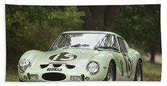 1962 Ferrari 250 Gto Scaglietti Berlinetta Bath Towel