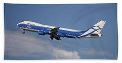 Air Bridge Cargo Airlines Boeing 747-83q Hand Towel