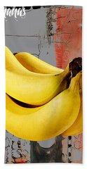 Banana Collection Hand Towel