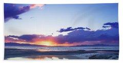 Beautiful Sunset Bath Towel