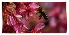 Bee Bath Towel by Jay Stockhaus