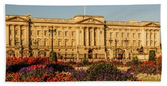 Buckingham Palace, London, Uk. Hand Towel