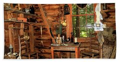 Cajun Cabin Bath Towel