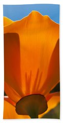 Californian Poppies Bath Towel