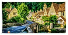 Castle Combe Village, Uk Hand Towel
