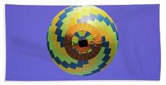 Colorful Abstract Hot Air Balloon Hand Towel