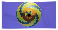 Colorful Abstract Hot Air Balloon Bath Towel