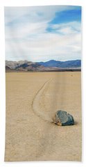 Death Valley Racetrack Hand Towel