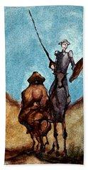 Don Quixote  Hand Towel