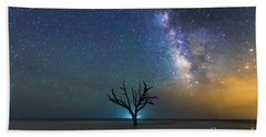 Edisto Island Milky Way Hand Towel by Robert Loe