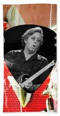 Eric Clapton Art Hand Towel