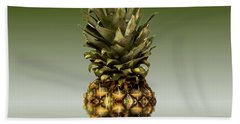 Hand Towel featuring the photograph Fresh Ripe Pineapple Fruits by David French