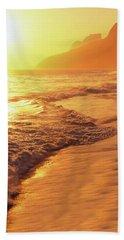 Ipanema Beach Rio De Janeiro Brazil Hand Towel by Utah Images