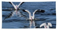 Hand Towel featuring the photograph 3 Is Company by Jennie Breeze