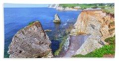 Isle Of Wight - England Hand Towel