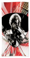 Jimmy Page Art Hand Towel
