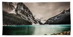Lake Louise Hand Towel by Bill Howard