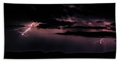 Lightning Bath Towel